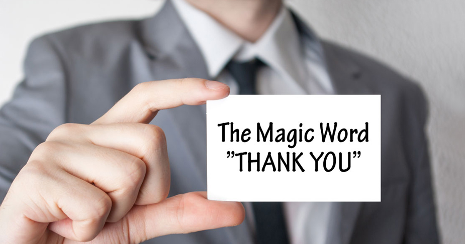 Those 9 Magical Words